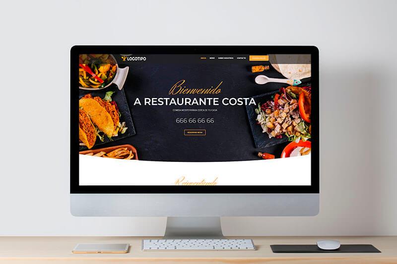 web economica para restaurantes 1