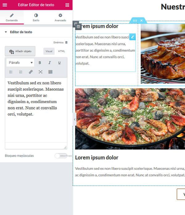 web-economica-para-restaurantes-2-personalizar