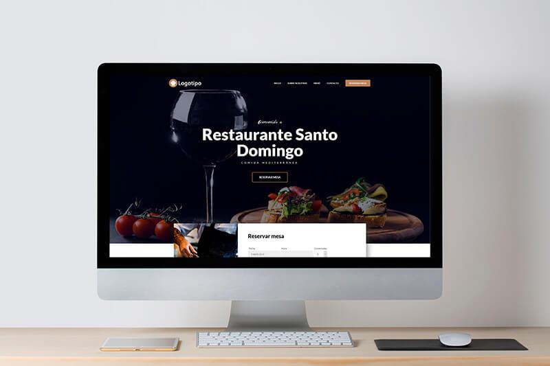 web economica para restaurantes 2