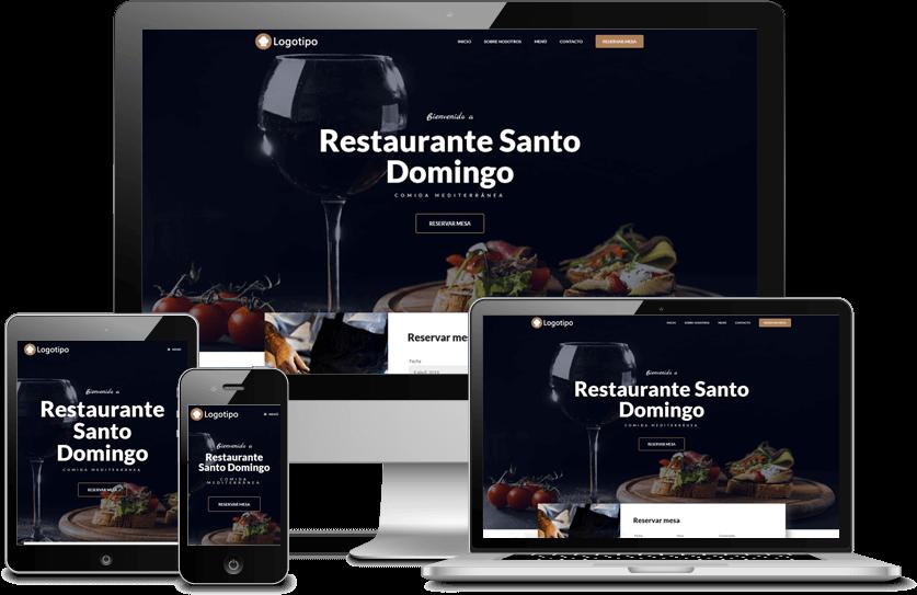Web para restaurantes 2